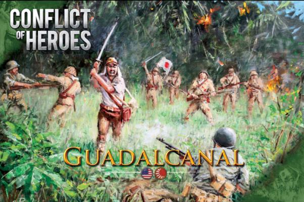 Conflict Of Heroes: Guadalcanal - The Pacific, 1942-43