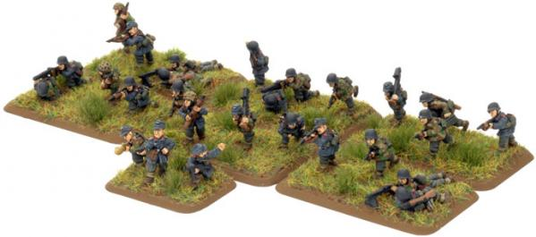 Flames of War - German: HG Panzer Grenadier Platoon
