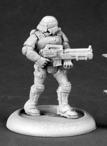 Chronoscope - Nova Corp: Nova Corp Rifleman
