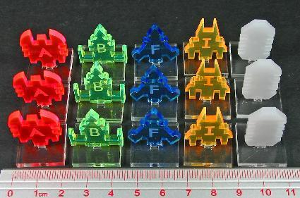 Firestorm Armada Accessories: 3-D Fighter Wing Markers (15 Markers)