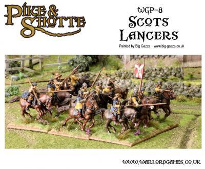 28mm Pike & Shotte - Scots Lancers
