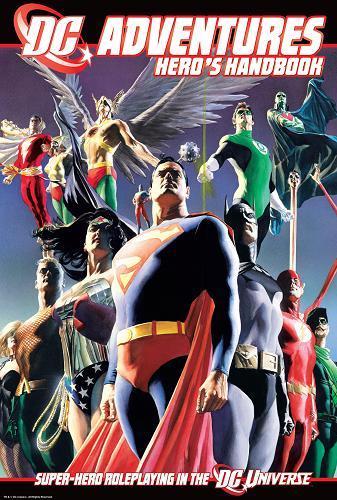 DC Adventures RPG: Hero's Handbook