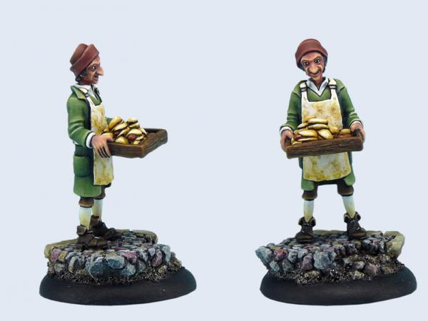 28mm Discworld Miniatures: Dibbler