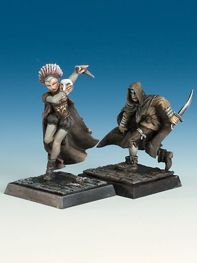 Freebooter's Fate: Coscritti and Harlequin