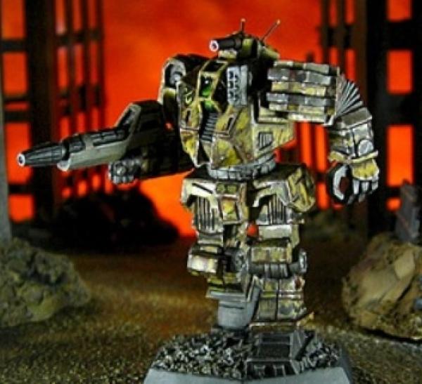 BattleTech Miniatures: Wolverine II Mech WVR-7H (Operation Klondike)