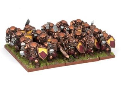 Kings Of War - Dwarves: Dwarf Ironclad Regiment (20)