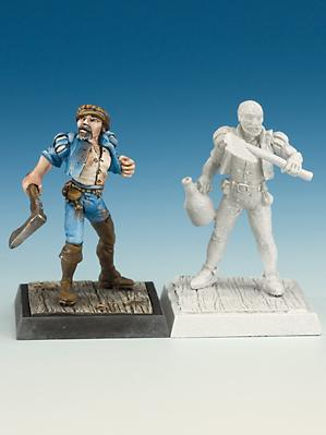 Freebooter Miniatures: Marines (2)
