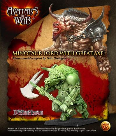 Avatars of War: Minotaur Chieftain with Great Weapon