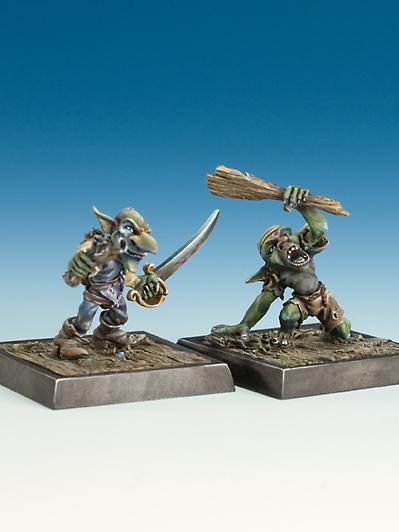 Freebooter Miniatures: Goblin Geezer and Velero (2)