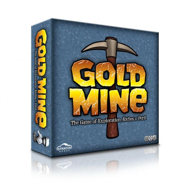 Gold Mine: The Game of Exploration, Riches & Peril