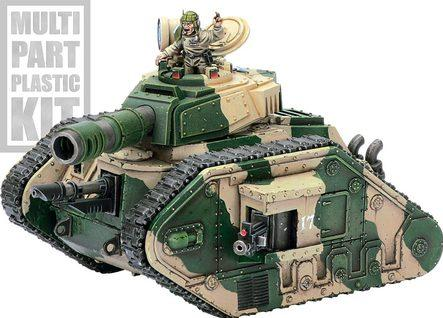 Warhammer 40K: Imperial Guard Leman Russ Battle Tank