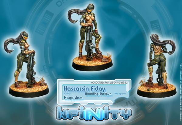Infinity (#243) Haqqislam: Hassassin Fiday (Boarding Shotgun) (1)