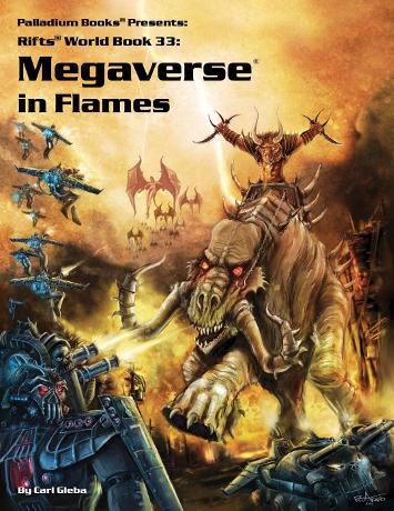 Rifts World Book 35: Megaverse in Flames