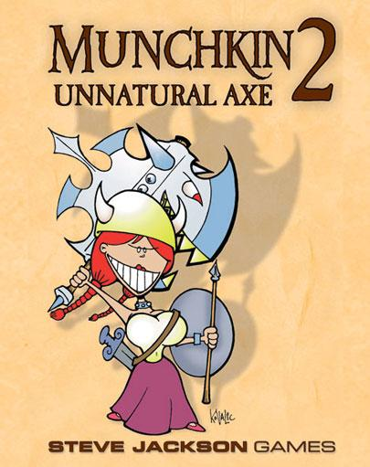 Munchkin 2: Unnatural Axe (Expansion)