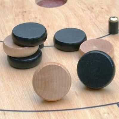 Black Crokinole Discs (14)