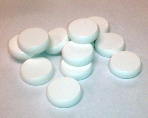 White Crokinole Discs (14)