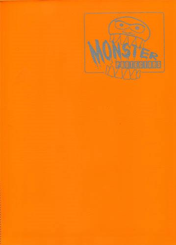 Monster Binders: Matte Orange (9-Pocket)