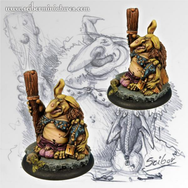 28mm Fantasy Miniatures: Uglyn Lovelord