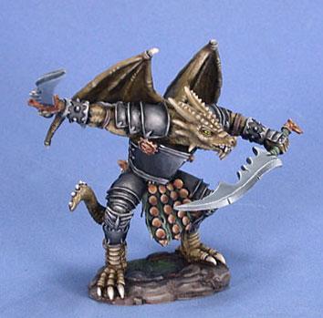 Visions In Fantasy: Draconid Warrior