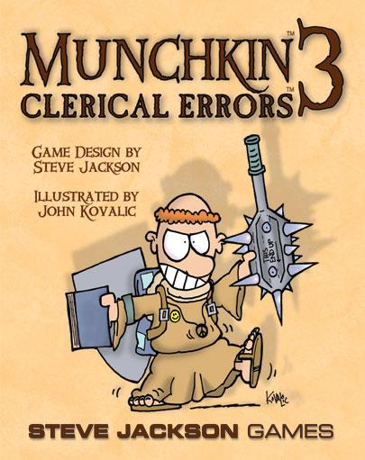 Munchkin 3: Clerical Errors (Expansion)