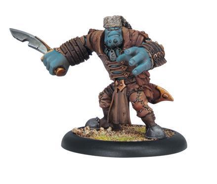 Hordes: (Trollbloods) Trollkin Skinner