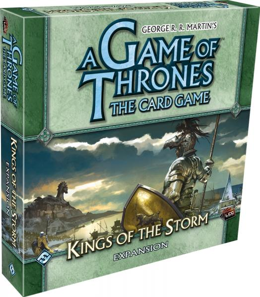 A Game of Thrones LCG: Kings of the Storm Expansion Box Set