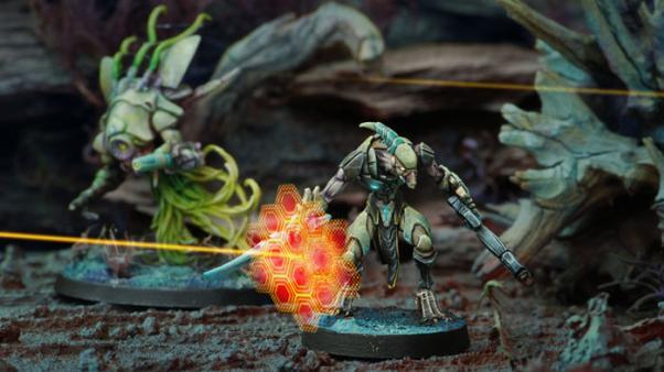 Infinity (#247) Combined Army: Shasvastii Gwailos (Boarding Shotgun) (1)