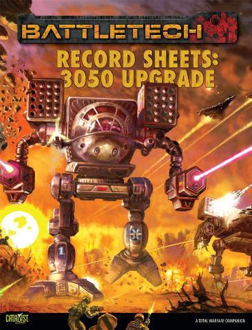 Classic BattleTech: Record Sheets 3050 Upgrade