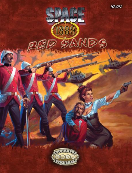 Savage Worlds RPG: Space 1889 - Red Sands