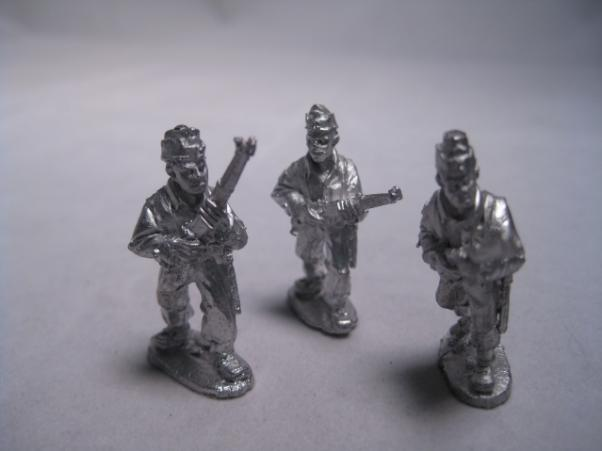 28mm Thrilling Tales (Pulp): A Very Private Army Riflemen (3)