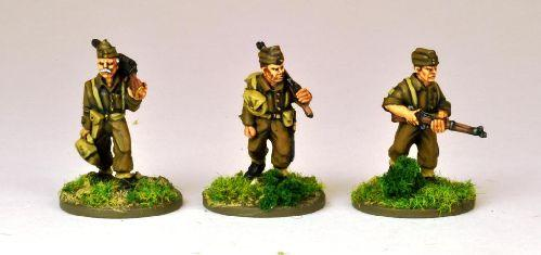 28mm Thrilling Tales (Pulp): A Very Private Army LMG Team (3)