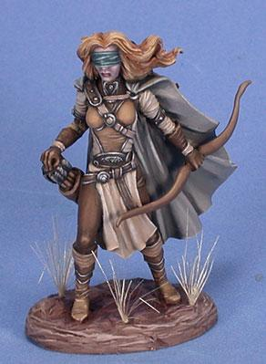 Visions In Fantasy: Female Blind Warrior