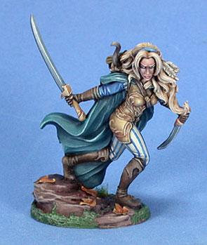 Visions In Fantasy: Female Wood Elf Warrior