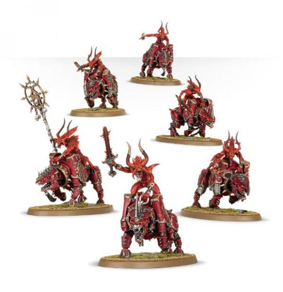 Age of Sigmar: Daemons Of Khorne Bloodcrushers
