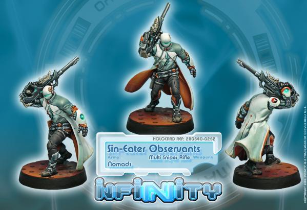 Infinity (#252) Nomads: Sin-Eater Observants (Sniper) (1)