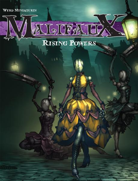 Malifaux: Rising Powers Rulebook (First Edition)
