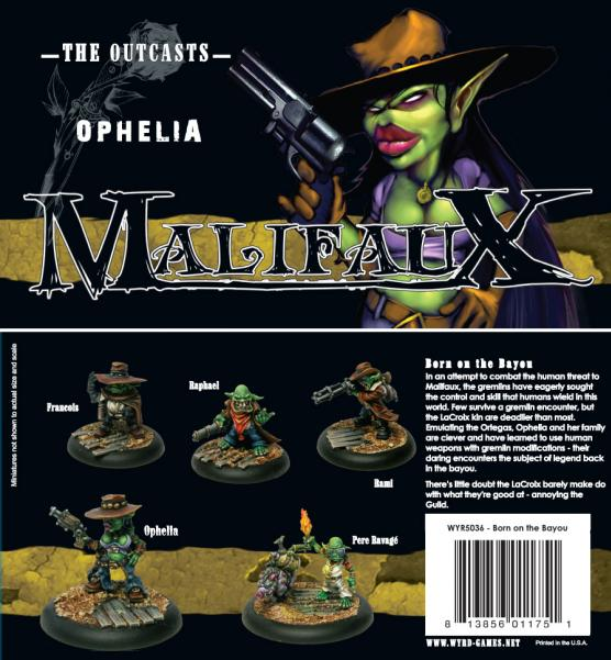 Malifaux 32mm - Outcasts: Ophelia Box Set (Born on the Bayou)