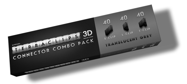 Terraclips: Combo Connector Pack (120 Clips)