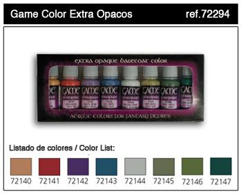 Game Color: Extra Opaque Basecoats Paint Set (8)