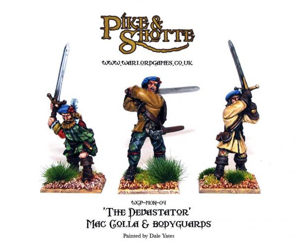 28mm Pike & Shotte: Mac Colla & Bodyguard