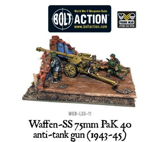 Bolt Action: (German) Waffen SS Pak 40