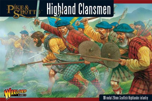 28mm Pike & Shotte: Highlanders
