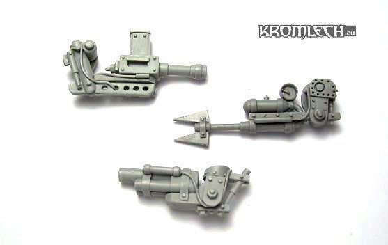 Kromlech Conversion Bitz: Post-Apocalyptic Mechanical Gun Arms (5)
