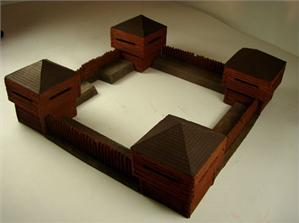 (American West) Timber Fort Set (8pc)