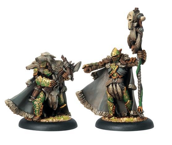 (Circle Orboros) Reeves Of Orboros Chieftain & Standard
