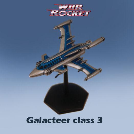 War Rocket: Galacteer Class 3