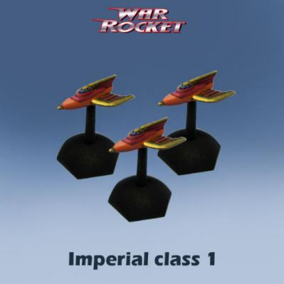 War Rocket: Imperial Class 1 (pack of 3)