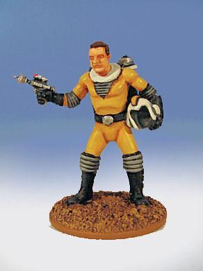 Retro Raygun: (Galacteers) Ace McGuire