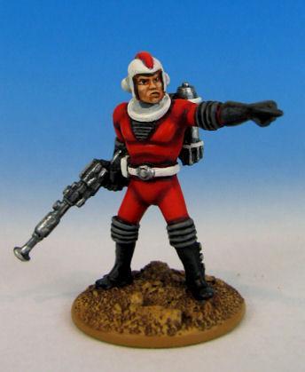 Retro Raygun: (Galacteers) Sergeant