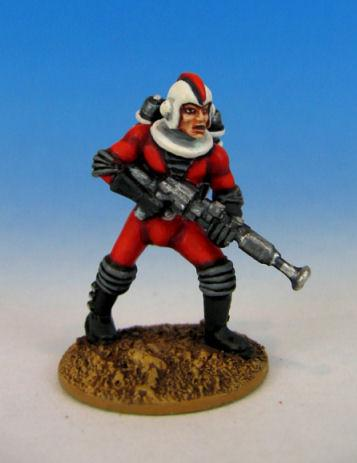 Retro Raygun: (Galacteers) Trooper, advancing